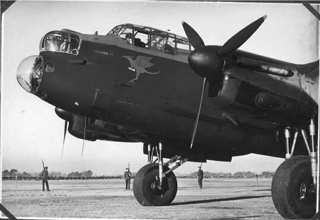 Lancaster bomber in New Zealand